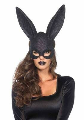 Glitter masquerade rabbit mask