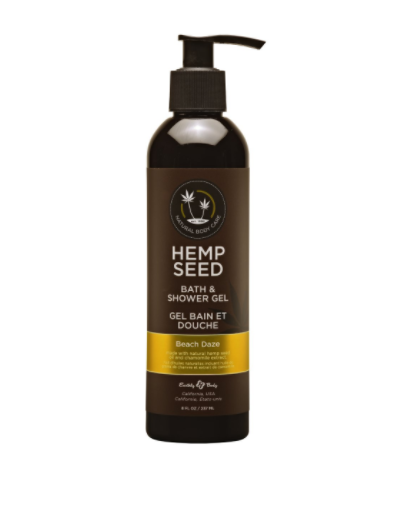 Hemp Seed Bath And Shower Gel Beach Daze 8 oz