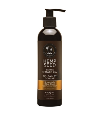Hemp Seed Bath & Shower Gel Dreamsicle 8 oz