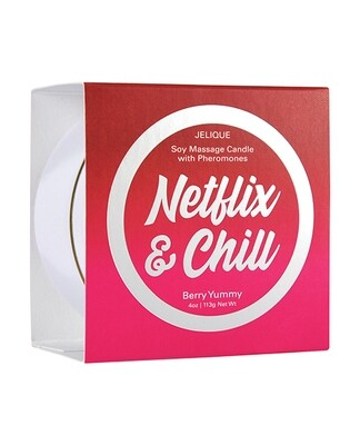 Netflix & Chill Massage Candle - Berry Yummy
