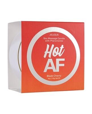 Hot AF Massage Candle - Black Cherry