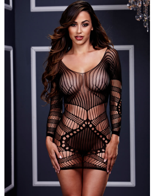 Longsleeve Lace Mini Dress