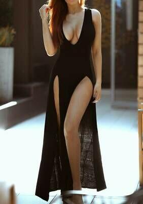 Jersey Loungewear Maxi Dress