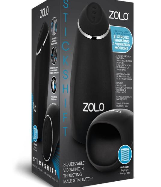 ZOLO Stickshift Thrusting Stroker