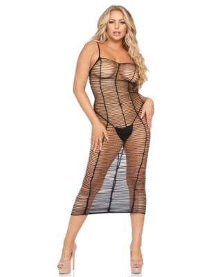 Worth the Wait Net Maxi Dress
