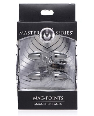 Master Series Mag Points Magnetic Nipple Clamp Set