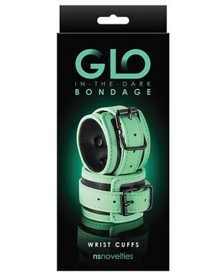 GLO Bondage Glow In The Dark Wrist Cuff