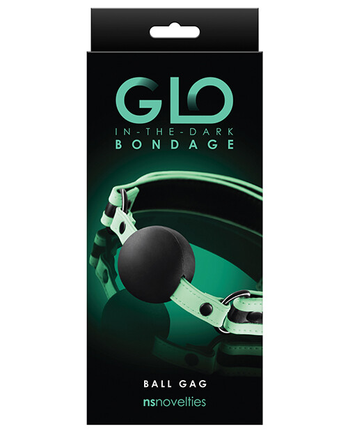 GLO Bondage Glow In The Dark Ball Gag