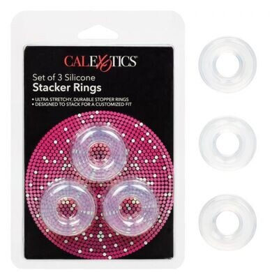 Silicone Stacker Rings 3 Pack
