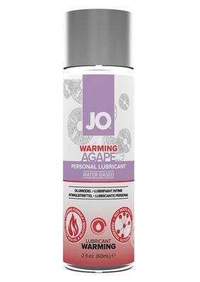 JO Agape Water Based Warming Lubricant 2 OZ