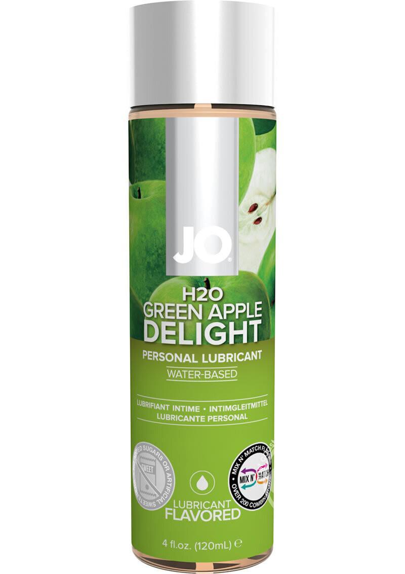 Jo H2O Flavored Lubricant Green Apple Delight