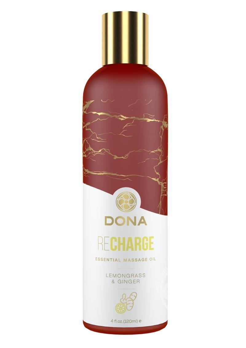 Dona Recharge Vegan Massage Oil Lemongrass & Ginger