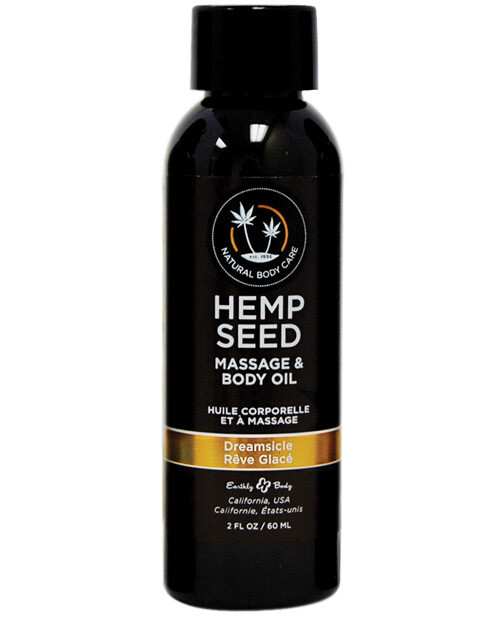 Hemp Seed Massage And Body Oil Dreamsicle