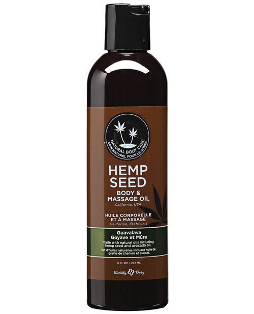 Hemp Seed Massage And Body Oil Guavalava