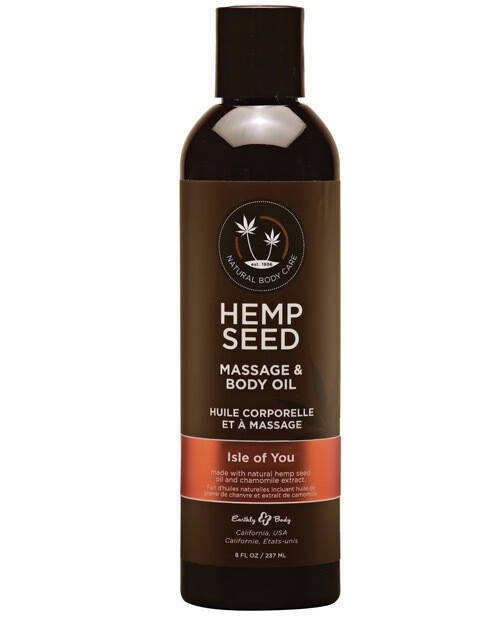 Hemp Seed Massage And Body Oil Isle of You