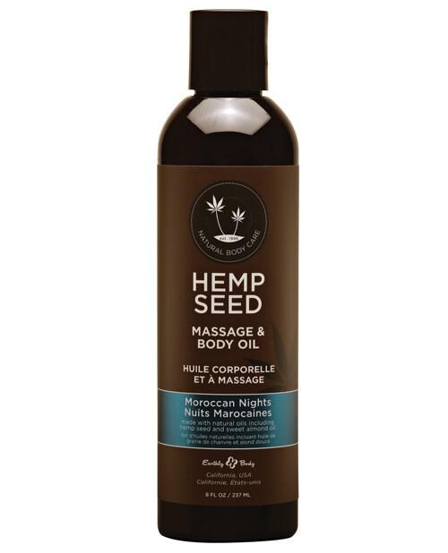 Hemp Seed Massage And Body Oil Moroccan Nights