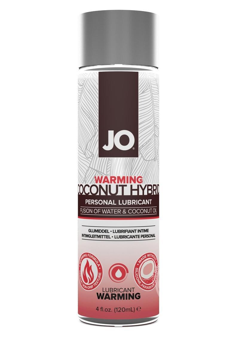 Hybrid Personal Warming Lubricant Water And Coconut Oil 4 Ounce