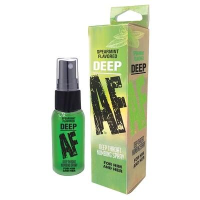 Deep AF Numbing Throat Spray Spearmint