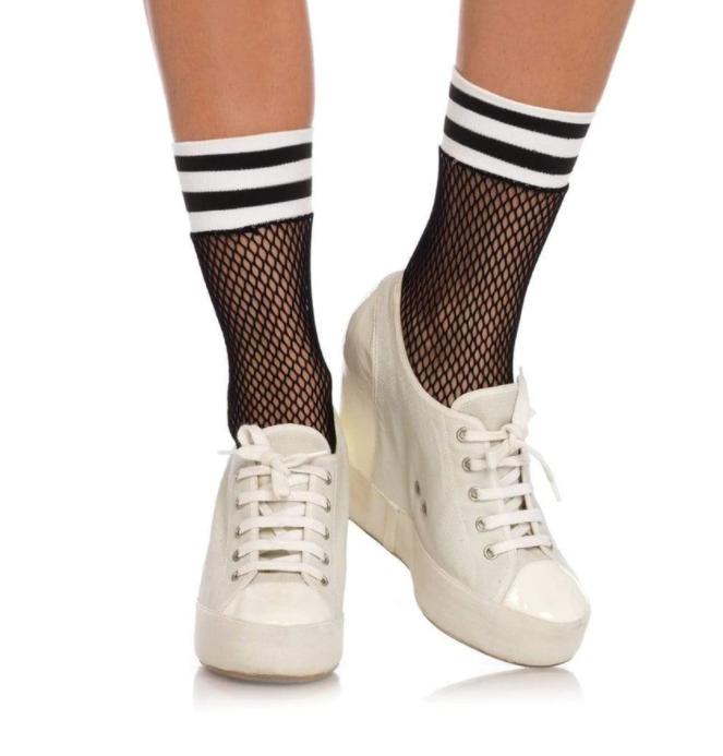 Stella Fishnet Athletic Ankle Socks