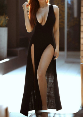 Glam Life Loungewear Maxi Dress