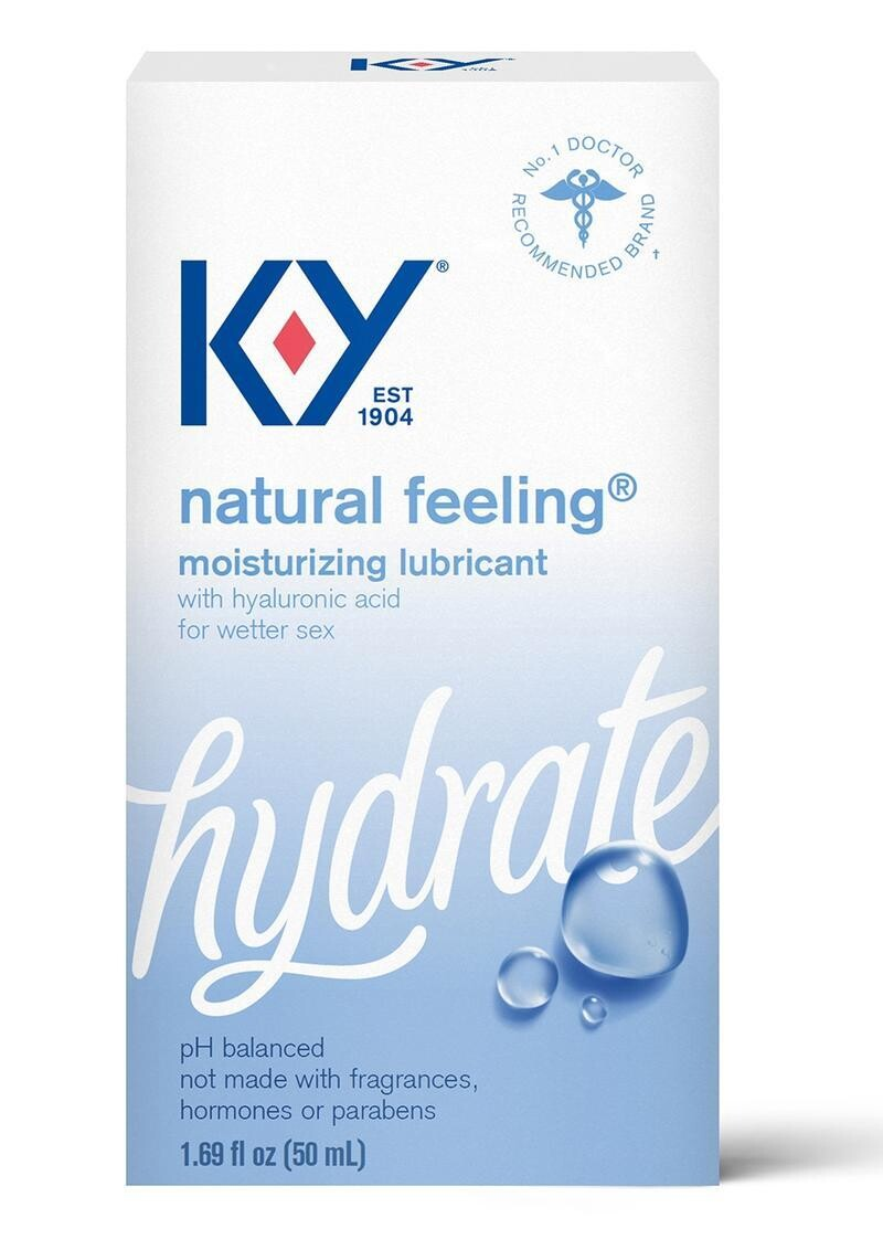 KY Hydrate Natural Lubricant With Hyaluronic Acid