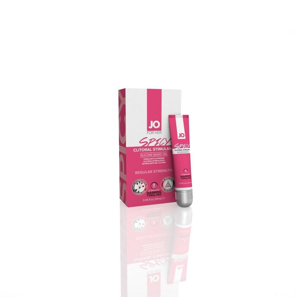 JO Spicy Silicone Clitoral Stimulant Gel