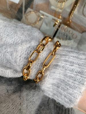 Bracciale catena oro