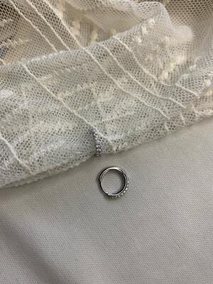 Hoop Classico argento