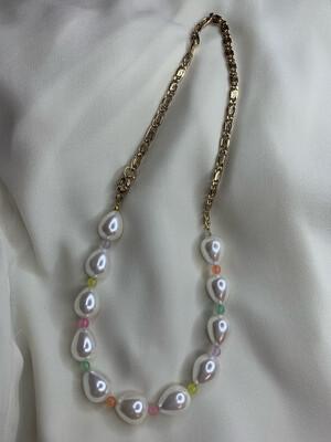 Collana perle goccia