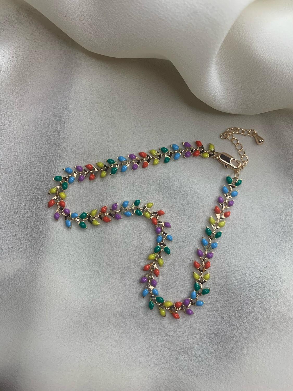 Cavigliera spiga multicolor