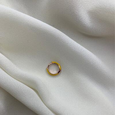 Hoop mini giallo