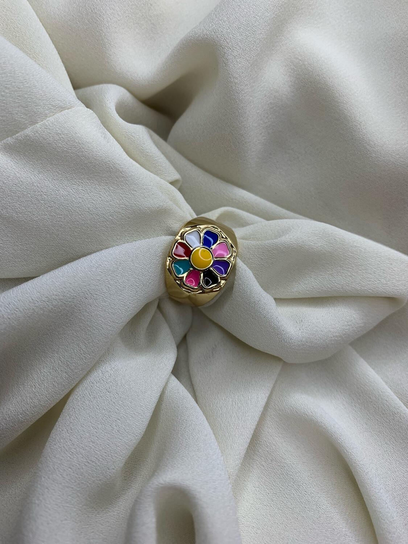 Anello Margherita multicolor