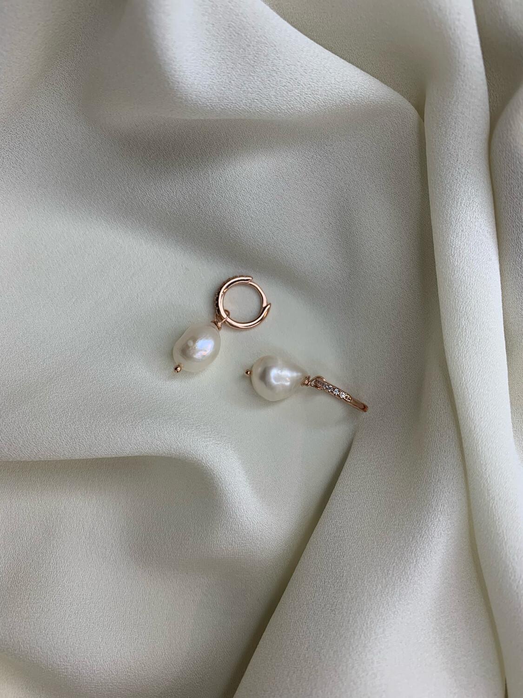 Hoop mini perle