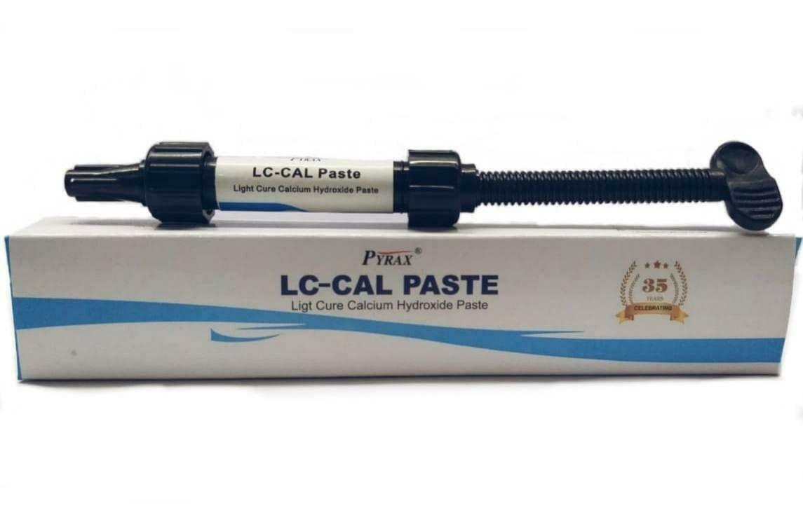 LC CAL PASTE (LIGHT CURE CALCIUM HYDROXIDE PASTE) 2GMS SYRINGE