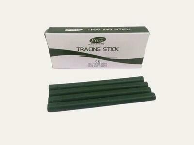 GREEN TRACING STICKS - 10 PCS