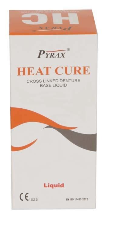 HEAT CURE LIQUID (FOR DENTURE BASE ACRYLIC RESIN)
