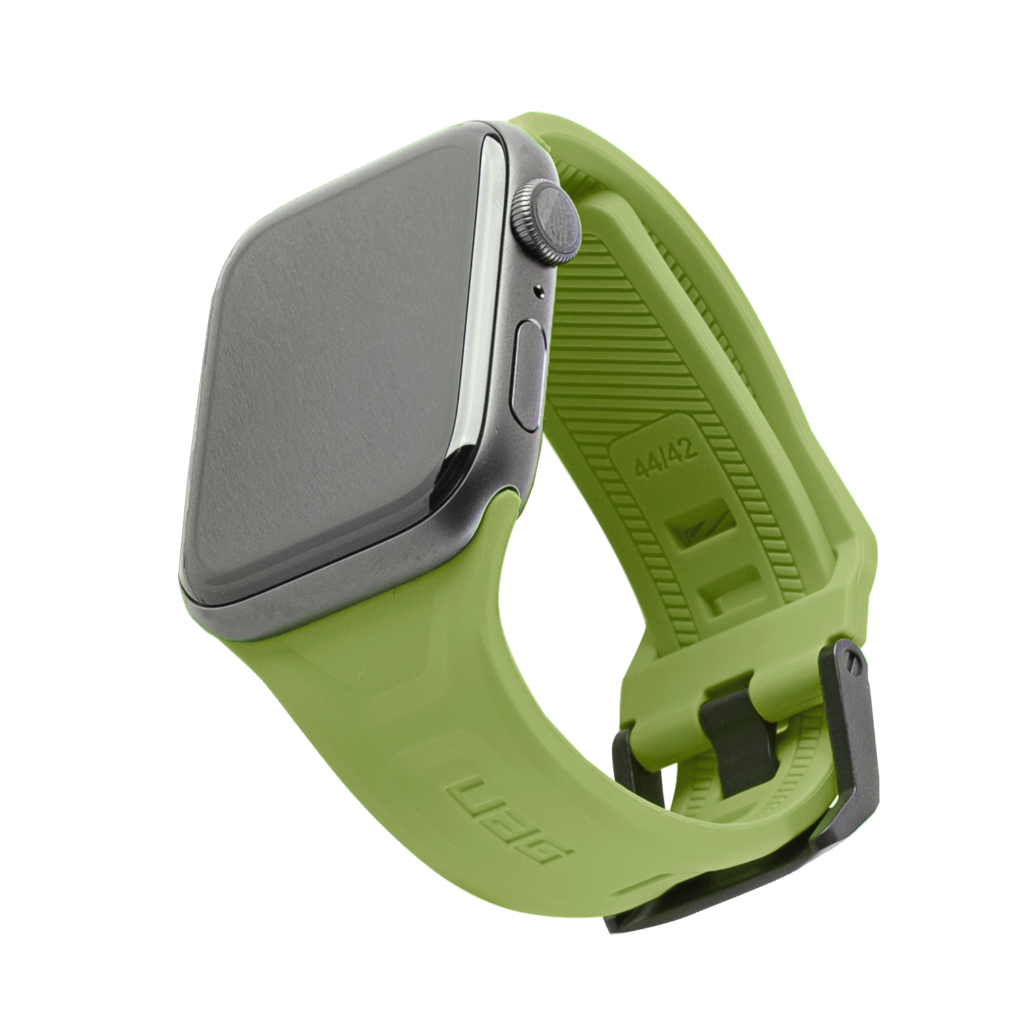 UAG Scout Silicone Watch Strap for Apple Watch 42mm / 44mm - Olive Green