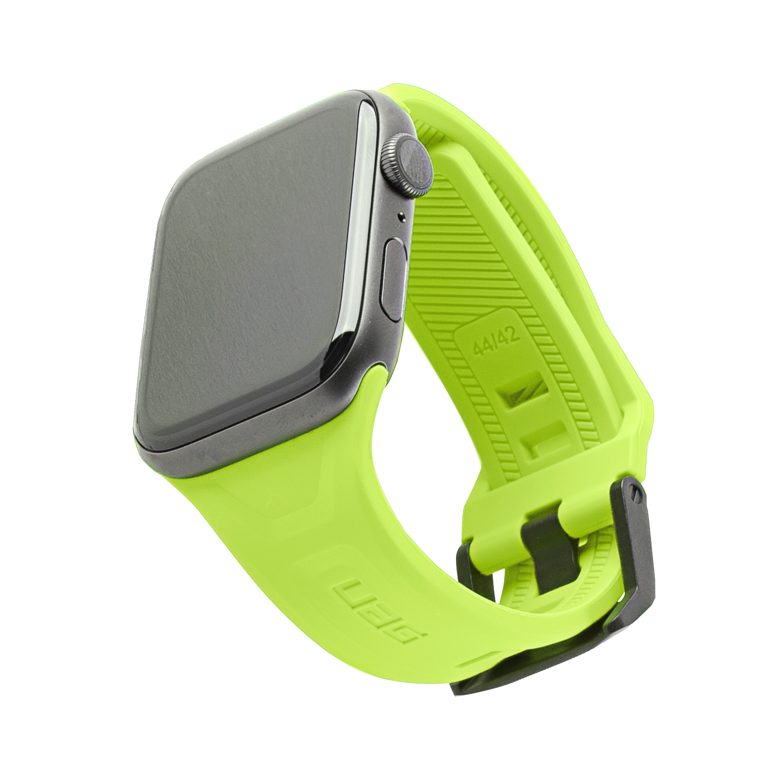 UAG Scout Silicone Watch Strap for Apple Watch 42mm / 44mm - Lime Green