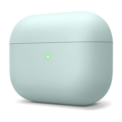 Liquid Silicone AirPods Pro Case - Mint Green
