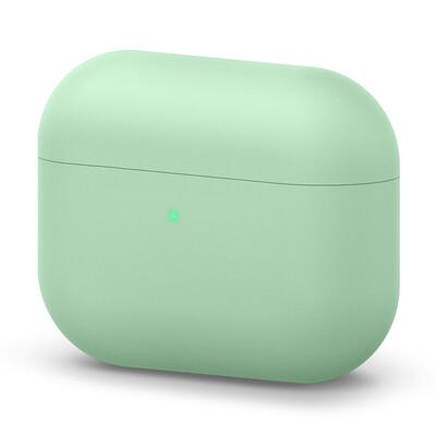 Liquid Silicone AirPods Pro Case - Grass Green