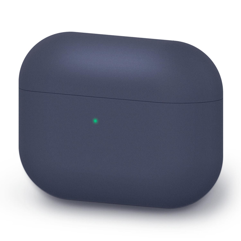 Liquid Silicone AirPods Pro Case - Dark Blue