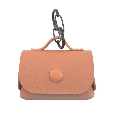Creative Bag Leather AirPods Pro Case - Brown