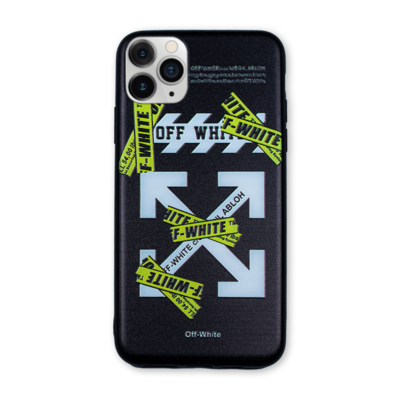 Off-White Printed Case