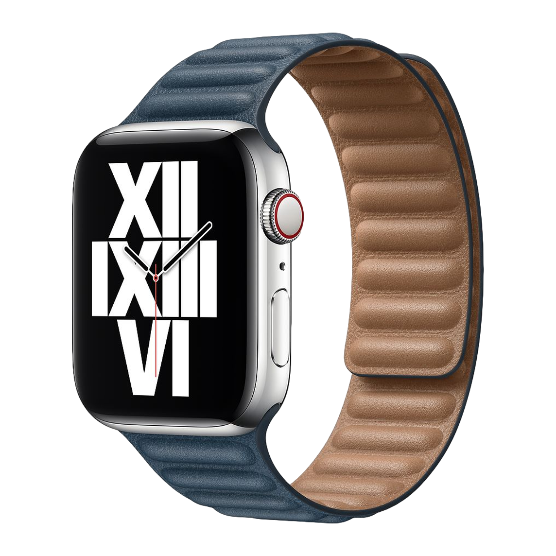 Leather Link Band for Apple Watch 42mm / 44mm - Blue
