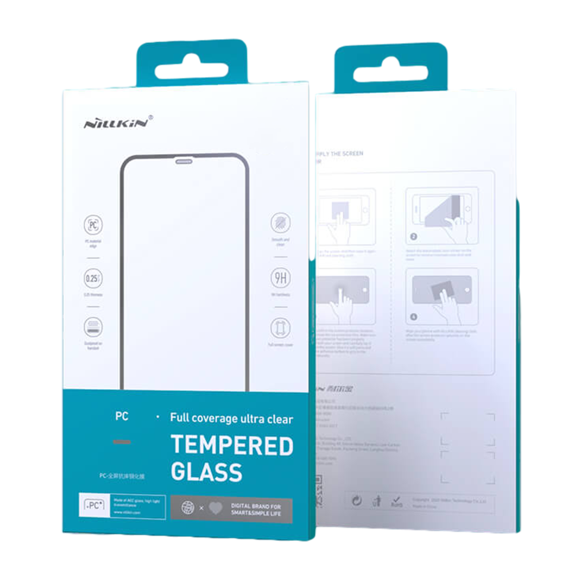 Nillkin Amazing PC Full Coverage Ultra Clear Tempered Glass Screen Protector