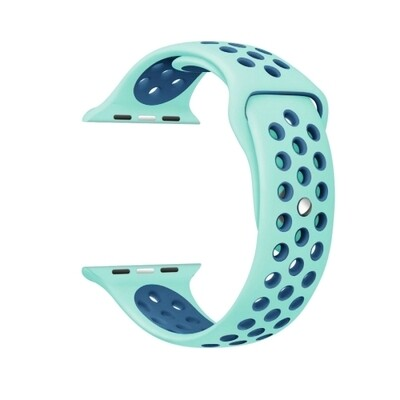 Nike Sport Band For Apple Watch - Green/Blue