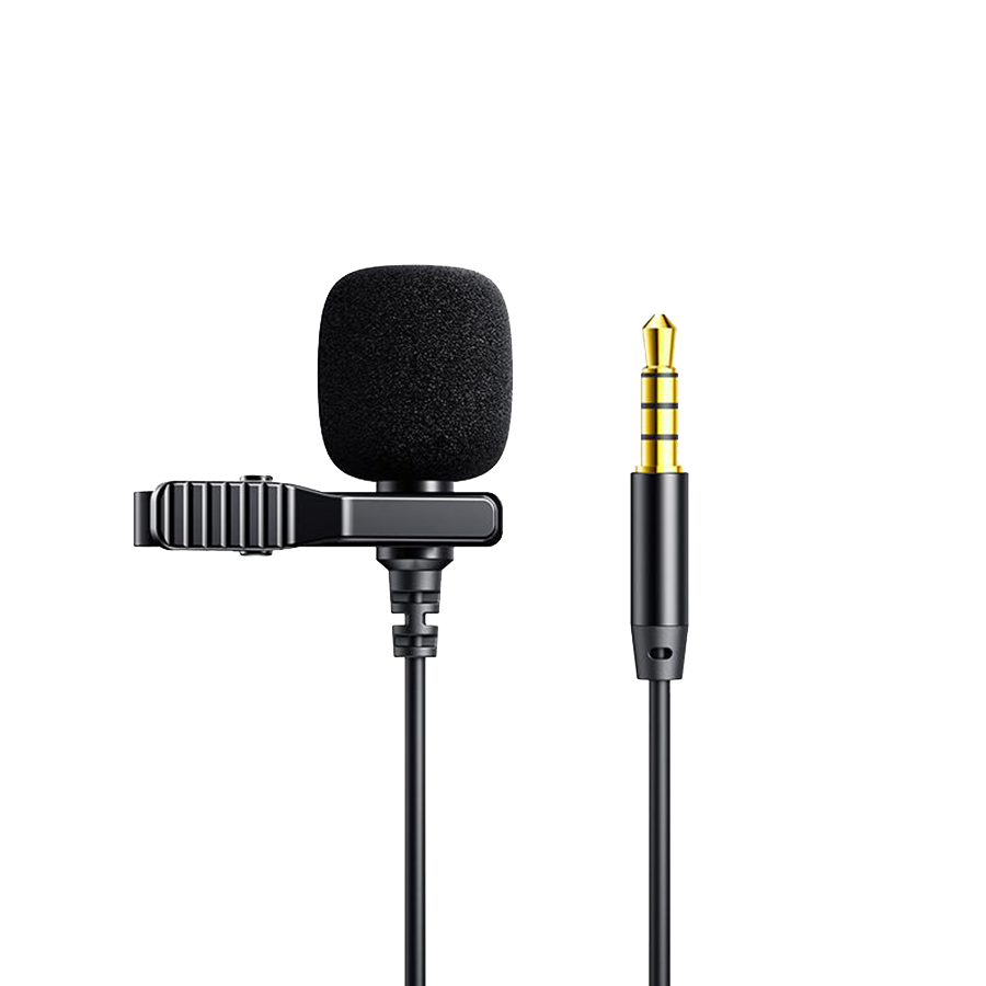 JOYROOM Lavalier Microphone with Noise Reduction and Clean Sound