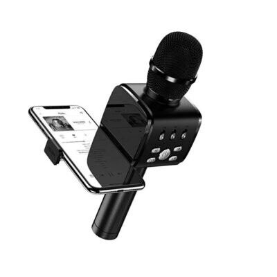 JOYROOM 2in1 Handheld Wireless Bluetooth Dynamic Microphone and Cell Phone Holder