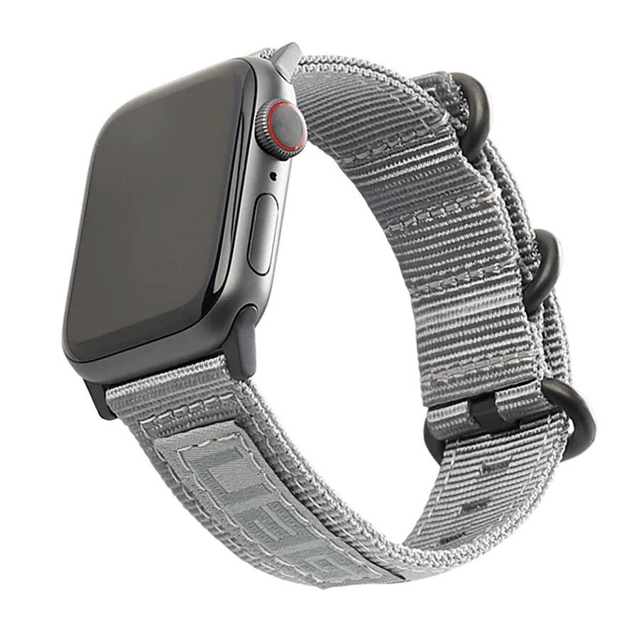 NATO Watch Strap for Apple Watch - Grey