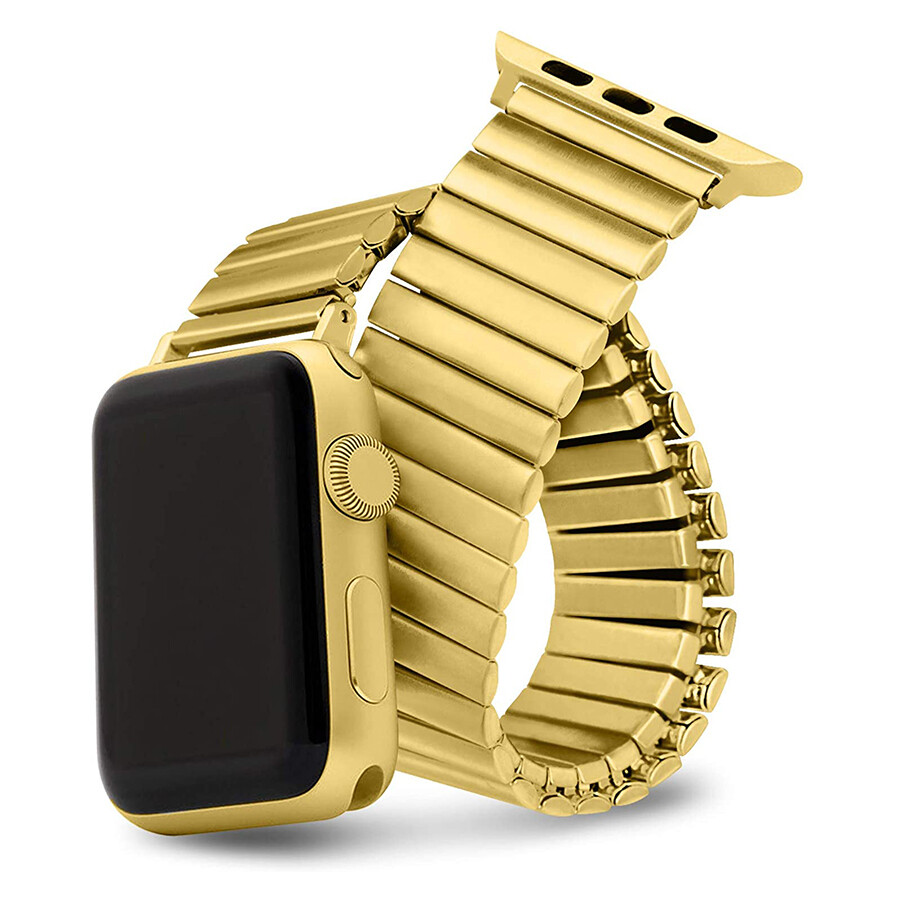 Elastic Stainless Steel Watch Band - Gold